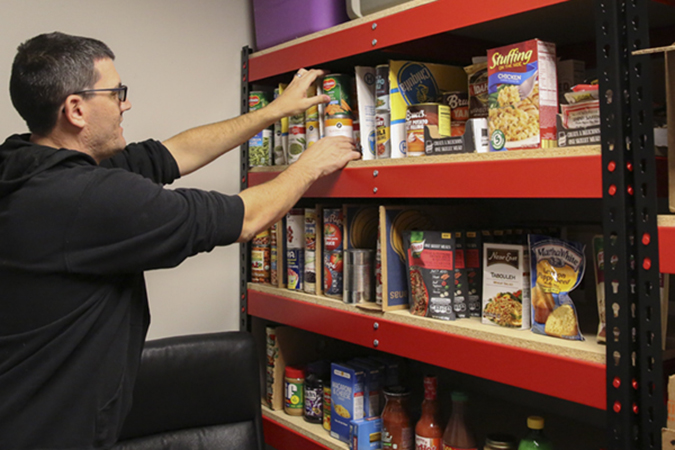 information about the gainesville food pantry