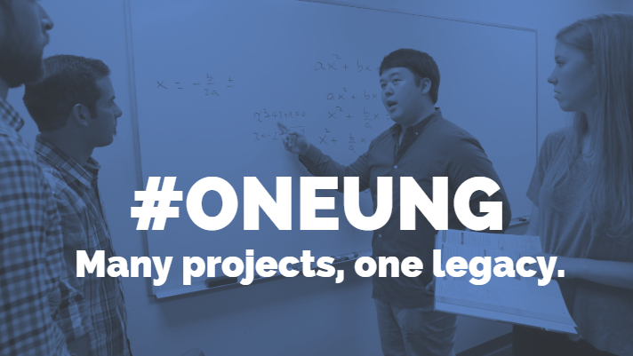 #OneUNG, Many Projects, one legacy.
