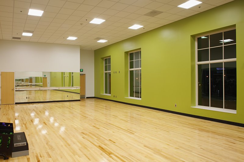 Dahlonega's recreation center group exercise room
