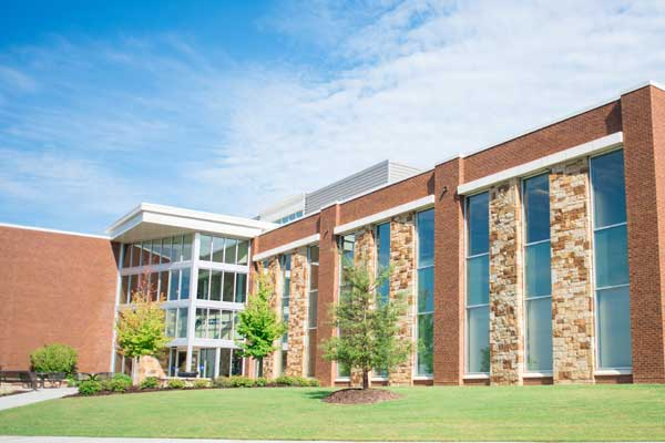 The UNG Cumming campus library