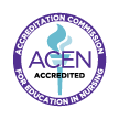 ACEN Accredited: Accreditiation Commission for Education in Nursing