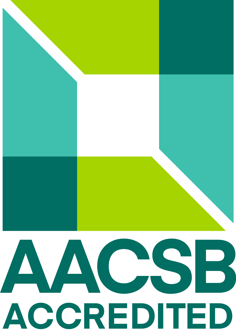 Accreditation logo for the Association to Advance Collegiate Schools of Business