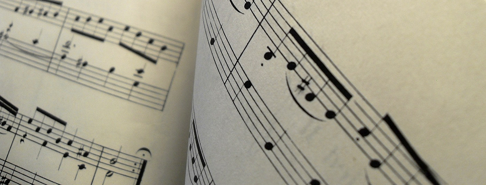 Part of a page of sheet music
