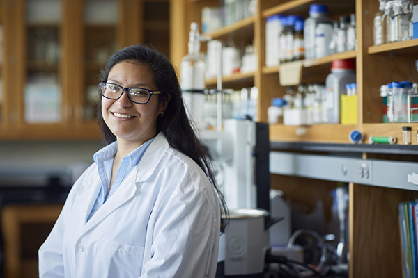 Sonia Alcantar graduated from UNG in December 2016 and began an internship at Pacific Northwest National Laboratory in the spring.