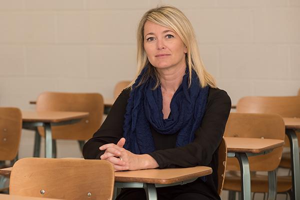 Dr. Valerie Hastings, associate professor of French.