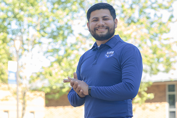 Cristian Ramos becomes the fifth UNG student recognized by the Newman Civic Fellows Award program.