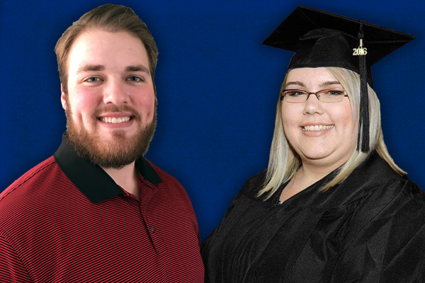 UNG graduates Jami Brownlee and Jonathan Long were the new fellows introduced at an event June 29 with Gov. Nathan Deal. Brownlee earned her bachelor's degree in 2016. Long earned his bachelor's degree in 2017.