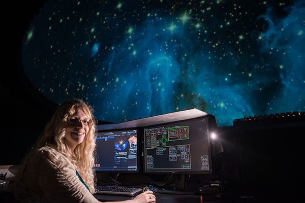 Lesley Simanton-Coogan, director of the George E. Coleman Sr. Planetarium at the University of North Georgia (UNG), plans to take Aug. 21 off to watch the rare total solar eclipse in Toccoa, Georgia. On Aug. 20, she will present a public program about the solar eclipse to area residents at the planetarium at UNG's Dahlonega campus.