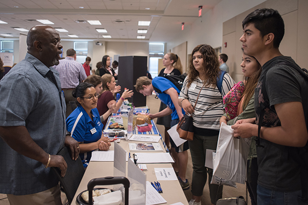 More than 30 nonprofit, private and governmental community service providers will participate in UNG's eighth annual Volunteer Fair from 11 a.m. to 2 p.m. Thursday, Sept. 21, in rooms 3110 A and B in the Martha T. Nesbitt Academic Building on the Gainesville Campus.