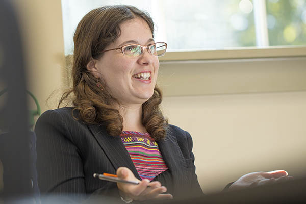 Dr. Sandra Annett, an associate professor of film studies at Wilfrid Laurier University, presented her research paper at the UNG Workshop on Education, Culture and Networks on Oct. 5.