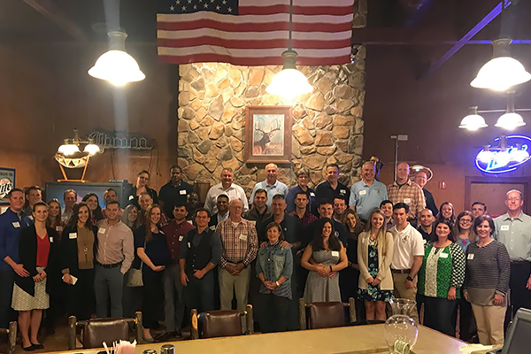 Corps of Cadets and other UNG alumni gather at Ft. Bragg