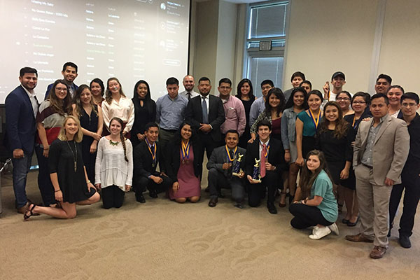 After competing against 15 other teams, University of North Georgia students (UNG) Wilver Yescas and Rodrigo Zavaleta won the sixth annual Great Latino Debate in October at UNG's Gainesville Campus.