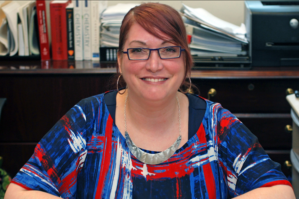 UNG's Aimee Tomlinson has been a member of MERCURY for the past five years. Since 2001, the year of MERCURY's inception, the researchers involved have received more than $1.5 million in funding, published more than 230 papers, and worked with hundreds of students on research projects.