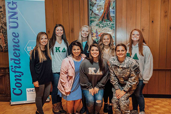 The Kappa Delta Foundation awarded $5,000 to support Confidence UNG, a leadership initiative for young women at UNG.