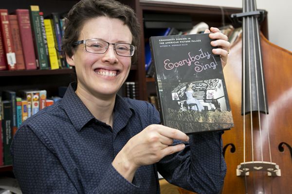 """Dr. Esther Morgan-Ellis, an assistant professor of music at the University of North Georgia UNG, had her book, """"Everybody Sing!: Community Singing in the American Picture Palace"""" recently published. The book was released Jan. 15 on Amazon."""