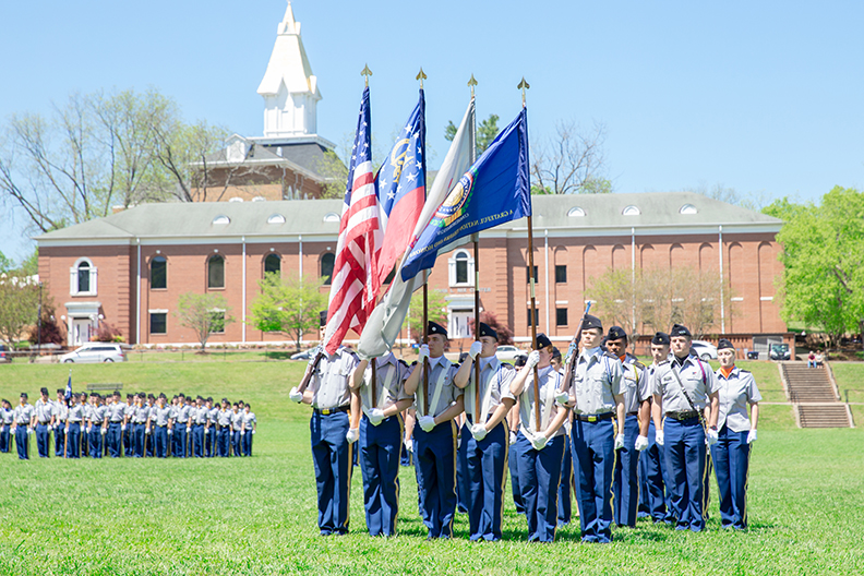 UNG's Corps of Cadets has been selected as the 2016-17 winner for the MacArthur Award among the nation's six senior military colleges.