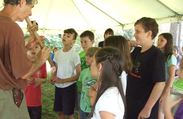 Students learn about Appalachian music during last year's Camp Appalachia.