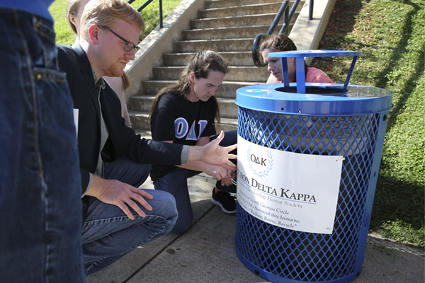 Students take steps in making UNG sustainable campus