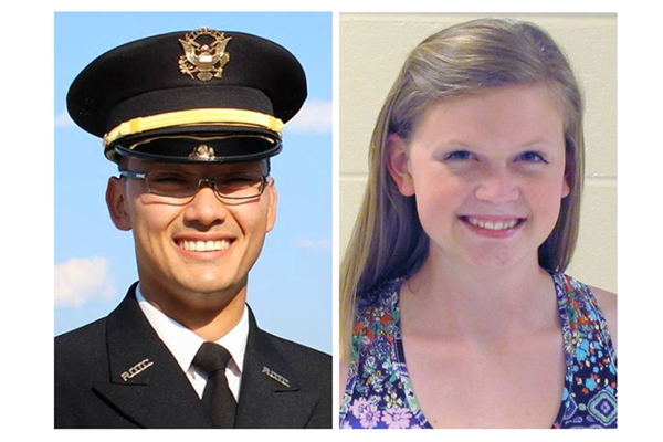 Five UNG students are among those who have received the Capt. Hilliard A. Wilbanks Foundation's scholarship. Alex Ezuka of Demorest, Georgia, graduated with a Bachelor of Science in psychological science and commissioned in spring 2017. Sara Bushey Reser, a senior from Dahlonega, Georgia, majoring in Arabic, received the scholarship in fall 2015. The $4,000 scholarship supplies the students with $1,000 each year for four years.
