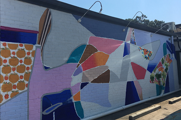 Faculty member's mural featured at Athens eatery