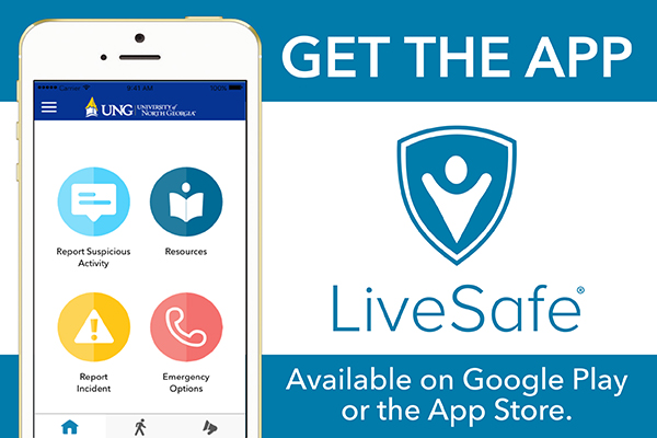 "The University of North Georgia switched its public safety app from Rave to LiveSafe, which has more features including the ""SafeWalk"" option. ""SafeWalk"" allows the user to invite friends or family members to watch them as they walk or drive from one point on campus to another."