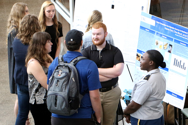 The University of North Georgia (UNG) will host the Georgia Undergraduate Research Conference in the Martha T. Nesbitt building Nov. 2 and 3 at UNG's Gainesville Campus. Students and faculty from the southeast region and beyond will present their research either orally on a panel, in a poster session or in a performance presentation.