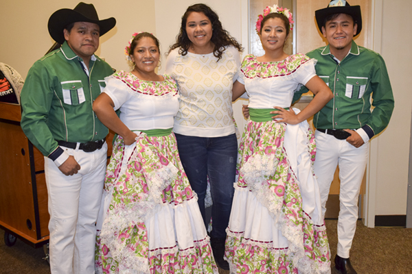 Latino and Hispanic Americans share their culture with UNG community