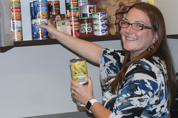 Cumming Campus establishes a food pantry