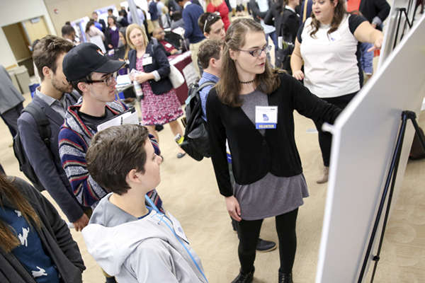 Regional research conference for undergrads benefits students