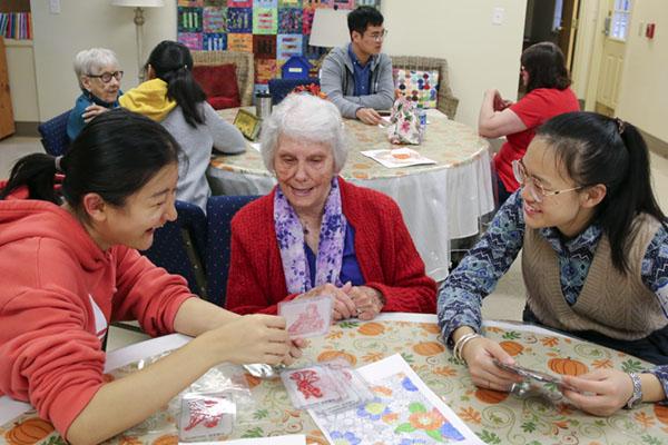 CLE students practice language skills through volunteerism