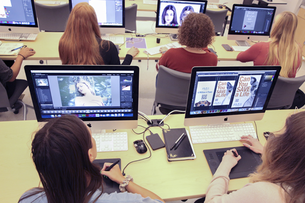Graphic design class helps nonprofits with advertising