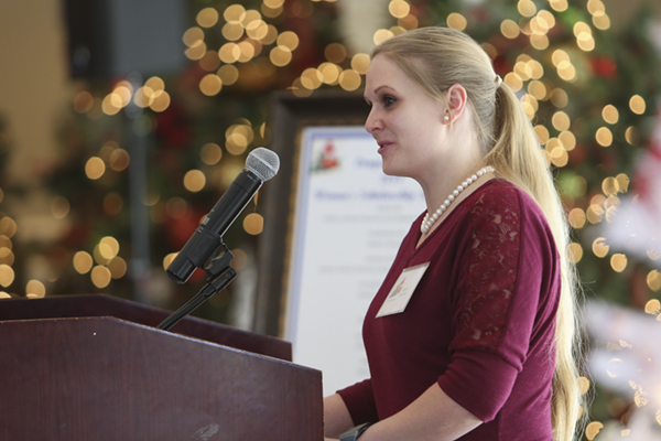 Women of UNG award former cadet with scholarship to continue her education