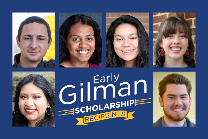 Six students receive early summer Gilman scholarships award