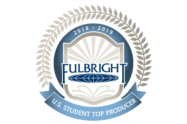 Fulbright U.S. Student Program recognizes UNG as top producer