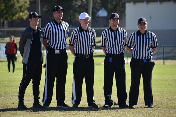 Student named All-American flag football official at national tournament