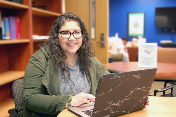 University of North Georgia junior Adriana Zarate has been named a Newman Civic Fellow. She is one of 262 students named to the 2019-2020 cohort.The one-year experience emphasizes personal, professional and civic growth for students who have demonstrated a capacity for leadership and an investment in solving public problems.