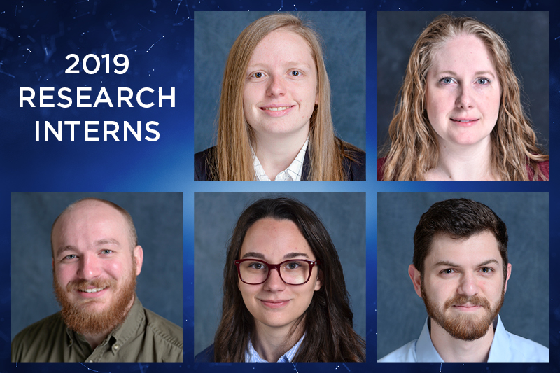 Five students earn undergraduate research opportunities this summer
