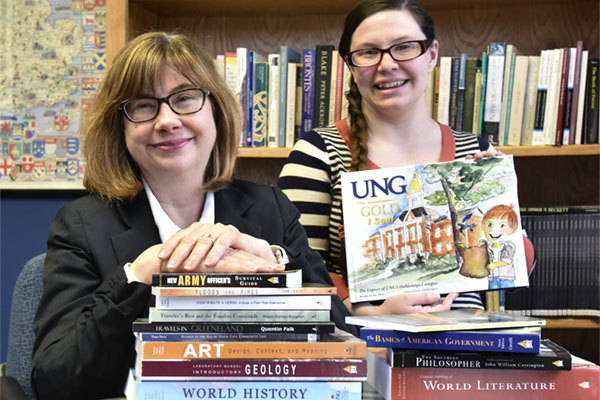 UNG Press celebrates 10 years as small publishing house