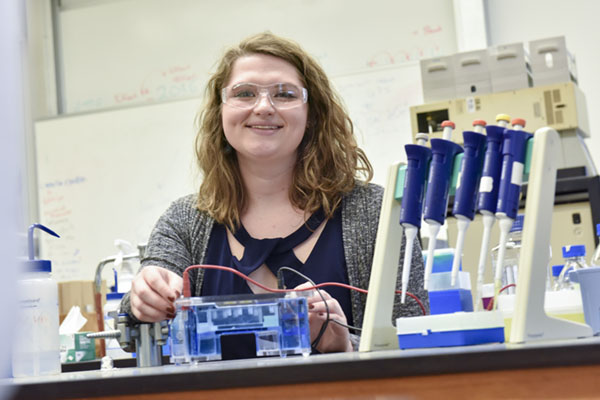 Senior earns National Science Foundation graduate research award worth $134K