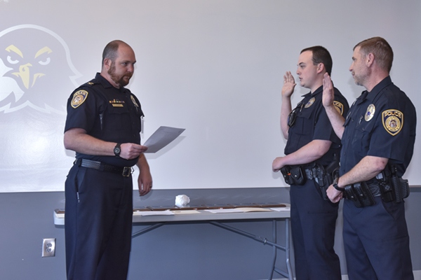 UNG Police Department awards officers for accomplishments