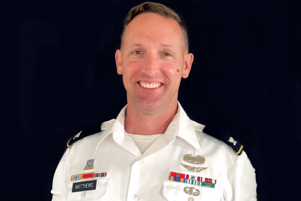 Alumnus Matthews hired as UNG's next Commandant of Cadets