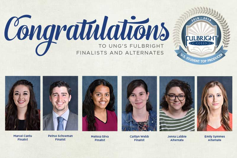 In 2019, two graduates and two seniors selected as Fulbright finalists