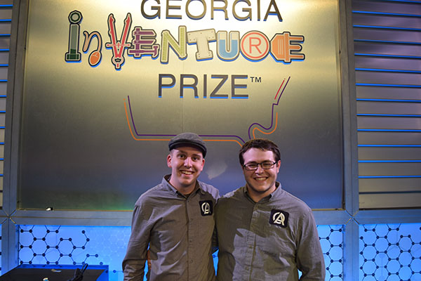 Caleb Hearn and Samuel Herrera won innovateUNG in 2019 and advanced to the Georgia InVenture Prize, where they finished in the top five. Registration for the innovateUNG 2020 student startup contest opens Nov. 16. The event is Feb. 25.