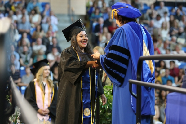 Nearly 1,300 take part in spring commencement