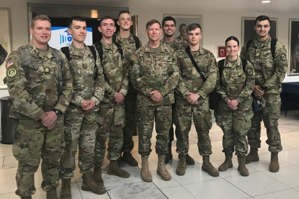 Cadets take part in NSA Cyber Exercise