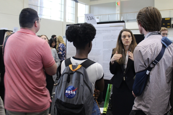 Record number of students attend research conference