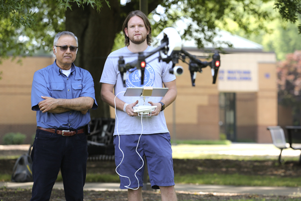 Sharma sets pace for drone mapping industry