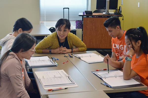 Students gain course credit and brush up on English at Steps to College
