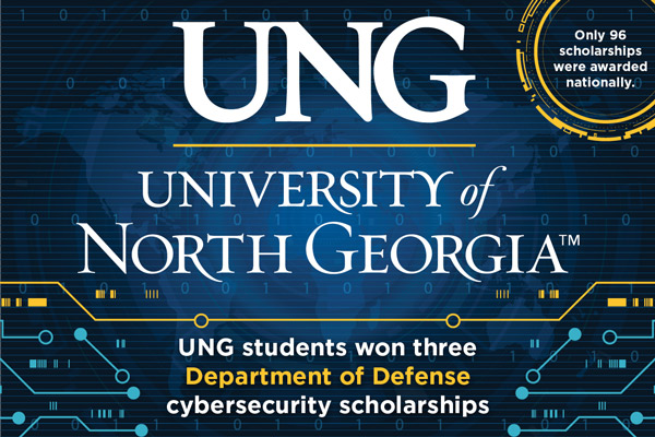 Two juniors and one senior earn cybersecurity scholarships