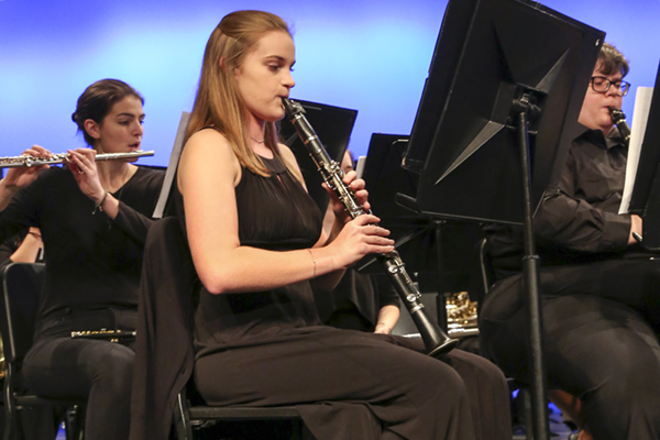 New compositions and music clinics on tap this fall